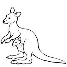 Small Picture Top 72 Kangaroo Coloring Pages Free Coloring Page
