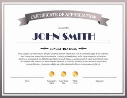 Certificate Of Excellence Template Word Classy 48 Free Printable Certificates Of Appreciation Templates