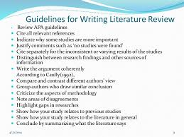 How to write a mini literature review    YouTube