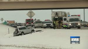 fargo n d both fargo police and the fargo fire department responded to two crashes late this afternoon
