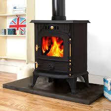 harmston 5 5kw multifuel cast iron log burner wood burning stove fireplace new