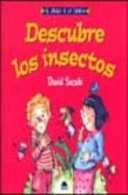 DESCUBRE LOS INSECTOS   BARBARA SUZUKI   Casa del Libro