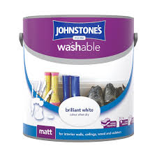 washable paint for wallsJohnstones Washable Matt Paint