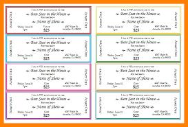Make Free Tickets 6 Free Ticket Maker Marlows Jewellers