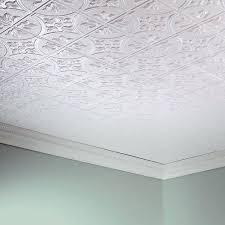 glue ceiling tiles s frction feture glue up ceiling tiles menards