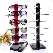 sunglasses rack fashion 6 pair eye glasses frame spectacle holder stand display diy sunglass