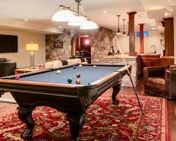 Wooden Games Room How to Plan a Pool Table Room Game On 88