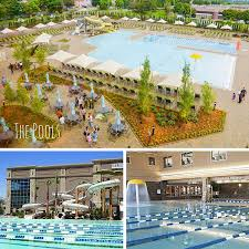 the outdoor pool is something you would expect to find at a resort and the indoor pool is pretty awesome too i should say indoor pools as there is an