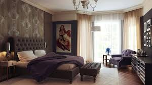 Interior Design Color Magnificent Paint Decorating Ideas Black Leather Tufted Bed Stool And White