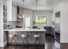 home office country kitchen ideas white cabinets. Home Office Country Kitchen Ideas White Cabinets Modest On With Regard To And Gray Features Distressed