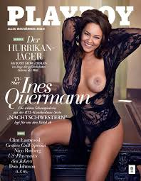 German Milf Ines Quermann Shows Her Nude Breasts For Playboy The Fappening