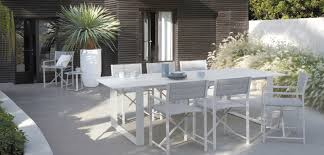 white garden furniture. White Outdoor Dining Set Garden Furniture N