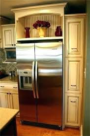 wine rack cabinet above fridge. Above Refrigerator Wine Rack Over Fridge Cabinet
