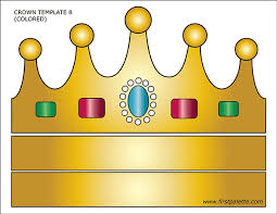 We have collected 35+ crown coloring page printable images of various designs for you to color. Prince And Princess Crown Templates Free Printable Templates Coloring Pages Firstpalette Com