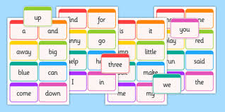 Dolch Word Flashcards Pre Primer Usa America Dolch Word