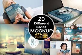 create amazing 3d book cover mockup in 20 diffe styles