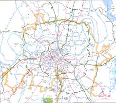 nashvilledavidson map tourist attractions  travelsfinderscom ®