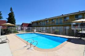 the swimming pool at or near americas best value inn south sacramento
