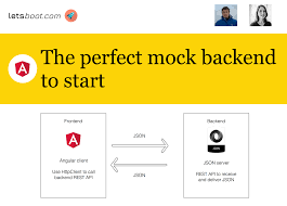 The perfect mock backend to start with an Angular application