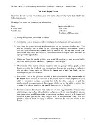 Case Study Paper Example Analysis Introduction Of Research Title
