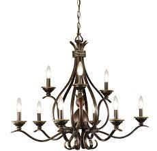 buckingham 9 light chandelier kolarz lighting