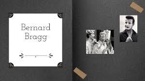 Image result for Bernard Bragg(black and white Photos)