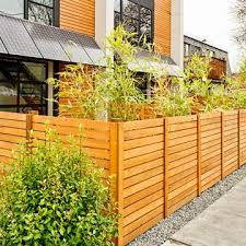 Horizontal Fence Designs Horizontal Fence Styles Horizontal Fence
