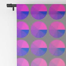 Rainbow Pie Chart Rainbow Pie Chart Pattern Blackout Curtain By Anjchang