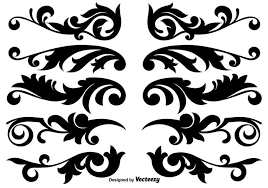 Design Decorative Fascinating Decoration Free Vector Art 32 Free Downloads