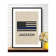 boston creative pany american flag personalized gifts wall hanging retirement gift police