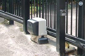how to install sliding gate motor pictures