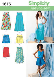 Simplicity Skirt Patterns Gorgeous Simplicity 48 Misses Skirts