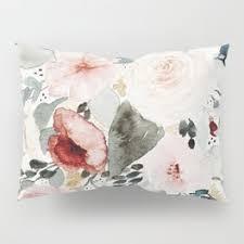 floral pillow shams. Plain Pillow Throughout Floral Pillow Shams I