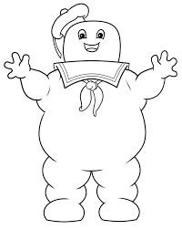 Stay Puft Marshmallow Man Cartoon Image Stay Puff In 2019