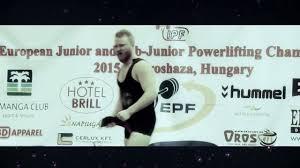 Alfold Gyongye Hotel European Junior And Sub Junior Powerlifting Championships 2016 In