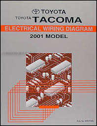 wiring diagram for toyota tacoma the wiring diagram 2001 toyota tacoma pickup wiring diagram manual original wiring diagram