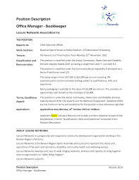 bookkeeper resume job description resume examples and writing tips bookkeeper resume job description bookkeeper job description what does a bookkeeper do bookkeeper resume objective resume