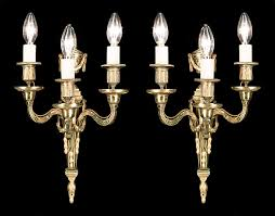 Neoclassical lighting Ceiling Pair Of Neoclassical Style Wall Lights Westland London Urns Swags Neoclassical Brass Wall Lights Westland London