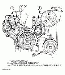 2005 dodge neon engine diagram i need to replace the idler pulley on my neon and