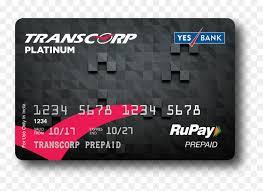 yes bank rupay debit card hd png