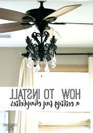black chandelier ceiling fan black chandelier ceiling fan how to install a light kit for a