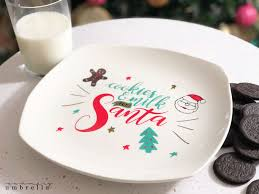 Diy christmas gift tags   shaker tag tutorial + 2 embellished tags. Diy Cookies For Santa Plate With Svg Design File Lz Cathcart