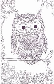 Printable Owl Coloring Pages For Adults Lovely Unique Free Printable