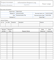 Request For Information Template Request For Information Samples