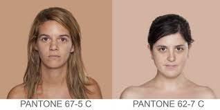 Pantone Skin Tone Chart Think Youre Alone In Your Skin Tone Find Out Where You