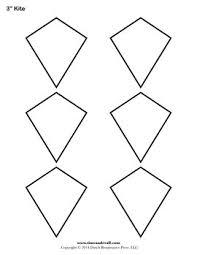 Free Printable Kite Template Free Kite Templates Blank Kite Shapes To Print Printable Pdf