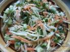 256Салат с капустой морковью и помидорами