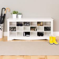 furniture shoe storage. Prepac Monterey Shoe Storage Cubbie Bench Furniture B