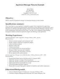 assistant property manager resume assistant property manager