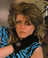 Lead guitarist Kelly Johnson of Girlschool was a real rock chick